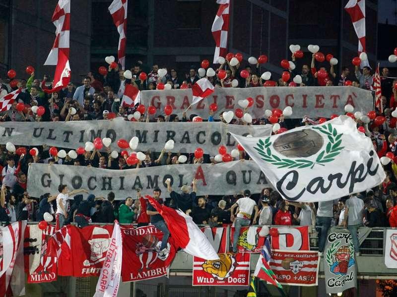 Italie, Carpi en Serie A !