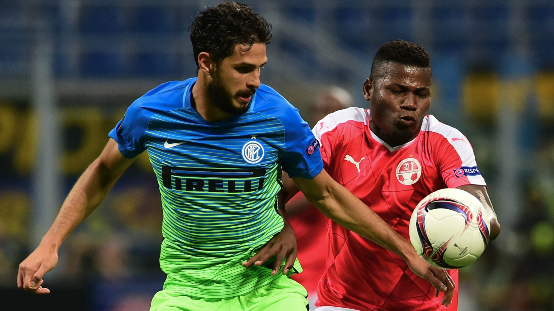 Andrea Ranocchia Inter Hapoel Be'er Sheva Europa League