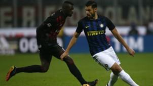 Mbaye Niang Antonio Candreva Milan Inter