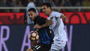 Mauricio Pinilla, Sinisa Andelkovic, Atalanta, Palermo, Serie A, 09212016