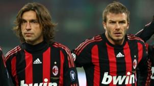 Andrea Pirlo David Beckham