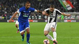 Danilo Gonzalo Higuain Juventus Udinese Serie A 15102016