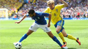Antonio Candreva Italy Sweden Euro 2016