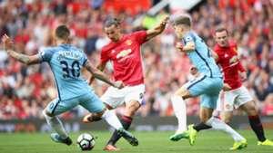Zlatan Ibrahimovic Manchester United Manchester City