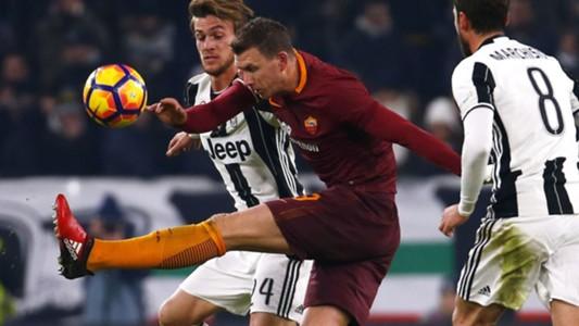 Edin Dzeko Juventus Roma Serie A