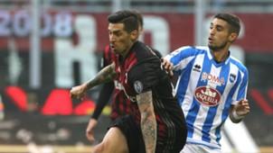 Josè Sosa Gustavo Brugman Milan Pescara Serie A