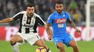Barzagli Insigne Juventus Napoli