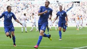 Giorgio Chiellini Italy Spain Euro 2016