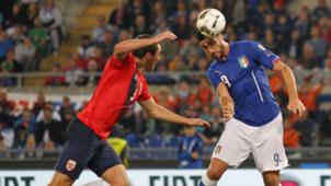 Graziano Pellè Italy Norway Euro 2016 13102015