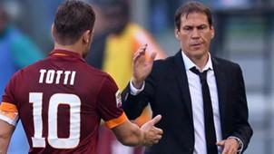 Totti Garcia Lazio Roma Serie A