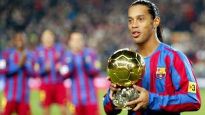 Ballon d'or Ronaldinho 2005