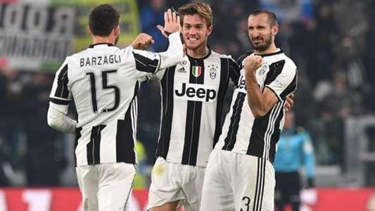 Barzagli Rugani Chiellini Juventus