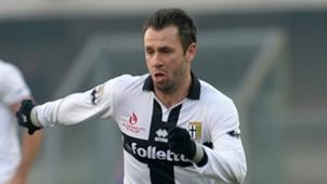 Antonio Cassano, Parma, Verona, Serie A, 11012015