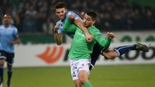 Neal Maupay Wesley Hoedt Saint Etienne Lazio