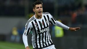 Alvaro Morata Fiorentina Juventus Serie A