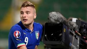Ciro Immobile Italy Azerbaijan