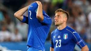 Italy players vs Germany