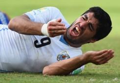 Luis Suarez Uruguay Italy