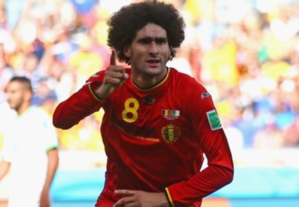 Marouane Fellaini Belgium
