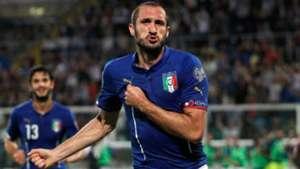 Giorgio Chiellini Italy Azerbaijan