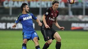 Montolivo Politano Milan Sassuolo Serie A