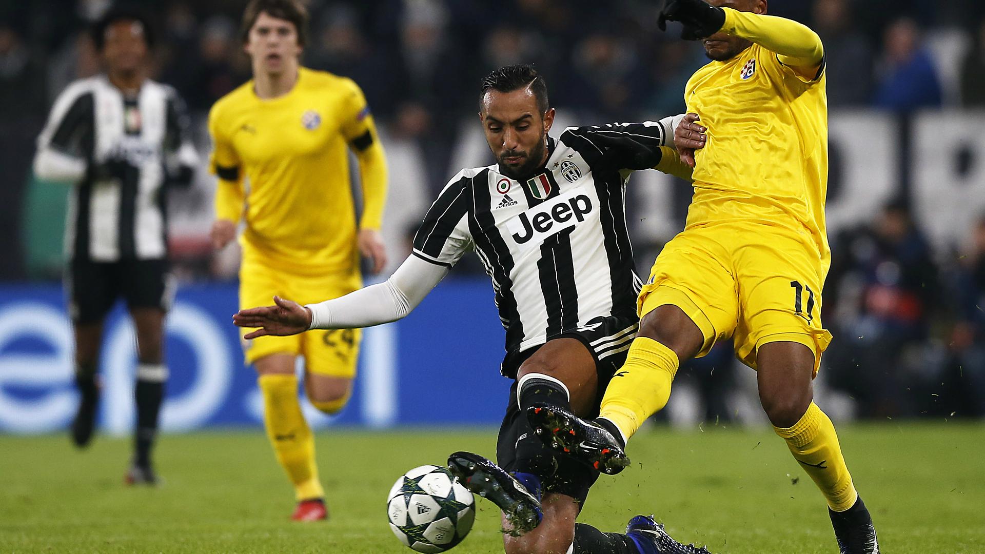 Mehdi Benatia Fernandes Juventus Dinamo Zagabria
