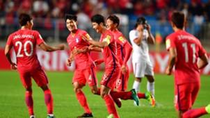 Ki Sung-Yueng South Korea v Qatar 2018 World Cup Qualifier