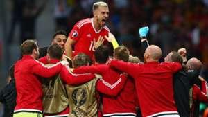 Aaron Ramsey Wales EURO 2016