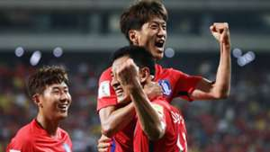 Lee Chung-Yong Ji Dong-Won Korea Republic 2018 Russia World Cup Qualifier