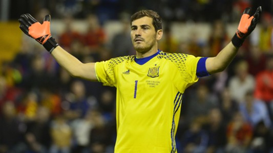 Iker Casillas Spain England Friendly