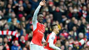 Danny Welbeck Arsenal Leicester City