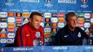 Wayne Rooney Roy Hodgson England EURO 2016