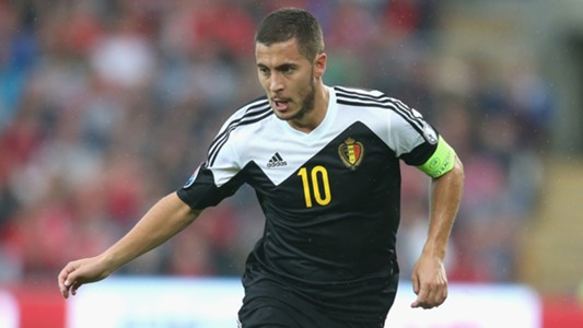 Eden Hazard Belgium EURO 2016 Qualifying