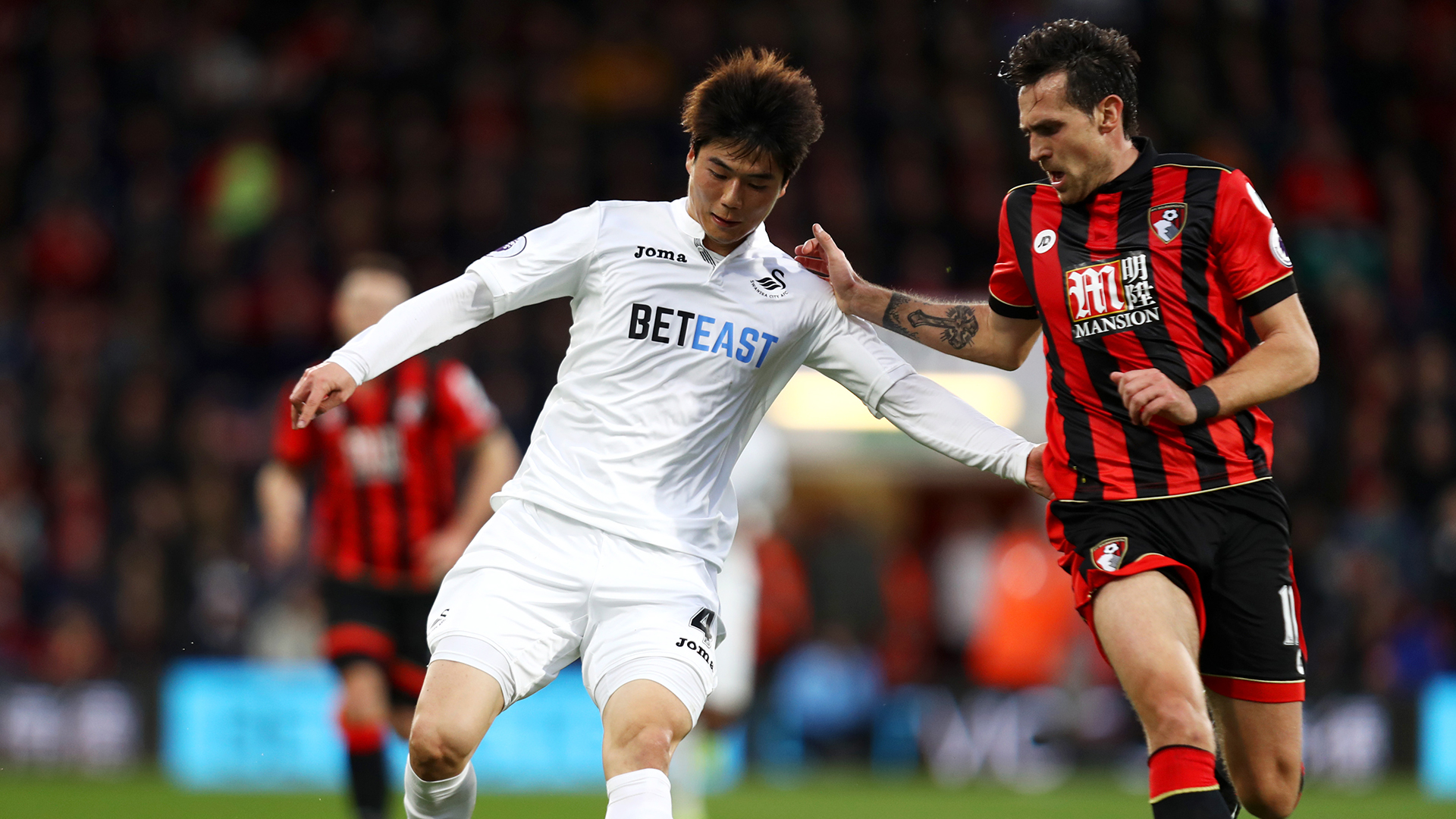 Ki Sung-Yueng Swansea City