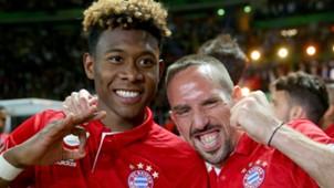 Franck Ribery David Alaba Bayern Munchen