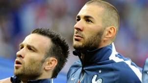 Karim Benzema & Mathieu Valbuena, France