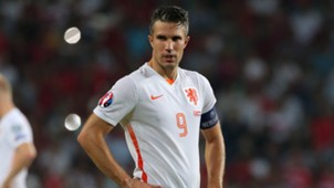 Robin van Persie Netherlands EURO 2016 Qualifying