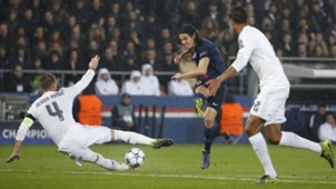Edinson Cavani Paris Saint=Germain Real Madrid UEFA Champions League