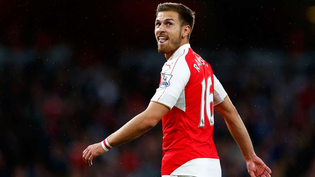 Aaron Ramsey Arsenal English Premier League