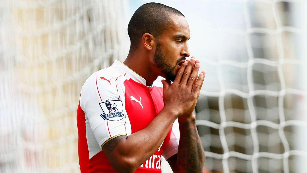 Theo Walcott Arsenal Premier League 29082015