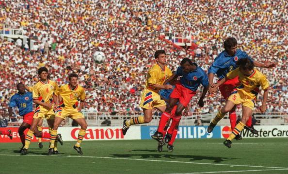 Valencia Goal Colombia vs Rumania 1994
