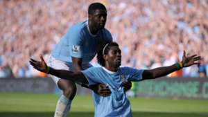 Kolo Toure Emmanuel Adebayor Manchester City Arsenal Premier League 12092009