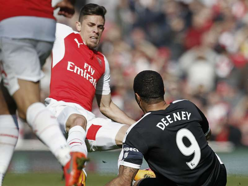 Gabriel could have broken my leg, says Deeney