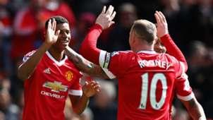 HDP Marcus Rashford Wayne Rooney Manchester United 16042016