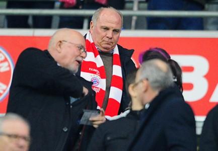 Uli Hoeness Bayern Munich Champions League 03112014