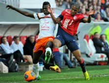 Djibril Sidibé Mbaye Niang Lille Montpellier Ligue 1 03092014
