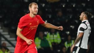 Ragnar Klavan Derby County Liverpool EFL Cup