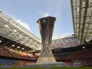 Europa League - Benfica and Chelsea, The Europa League trophy