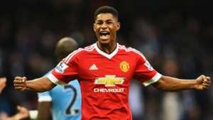 Marcus Rashford Manchester City v United