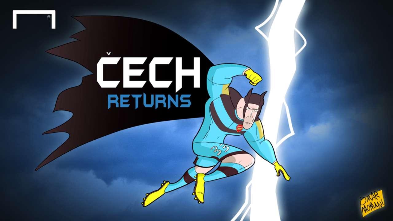 Cartoon Cech Returns
